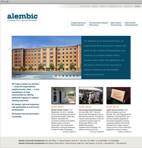 alembic community development